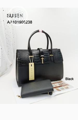 New Susen Lady's Black Shoulder Handbag | Bags for sale in Lagos State, Amuwo-Odofin