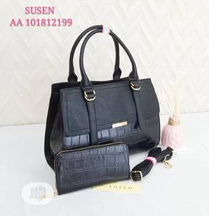 Quality Female Leather Handbag With Purse | Bags for sale in Lagos State, Amuwo-Odofin