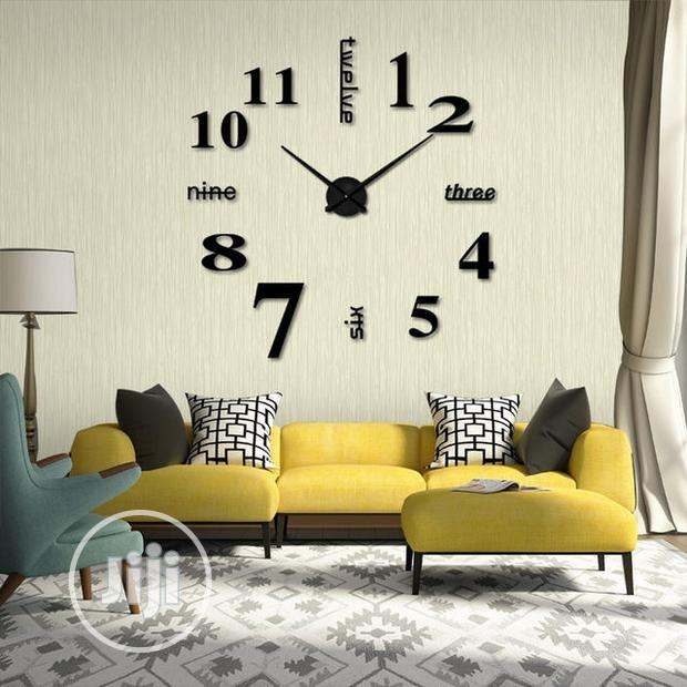Archive: 3D Acrylic Clock