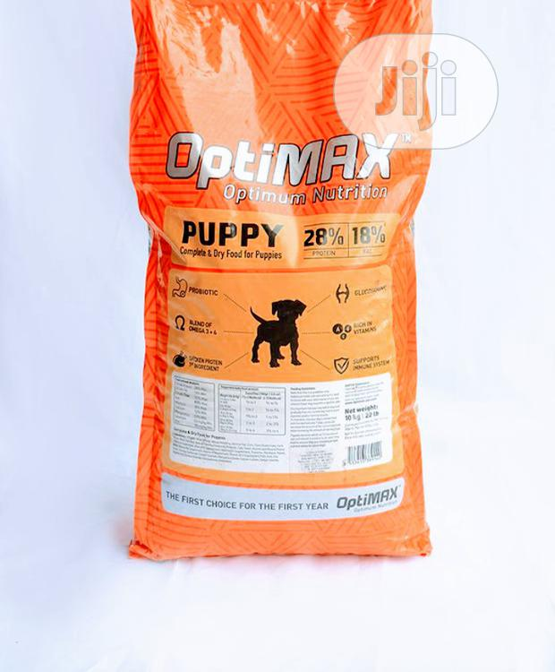Optimax Dog Food Puppy Adult Dogs Cruchy Dry Food Top Quality