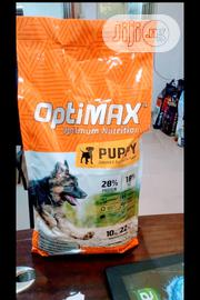 Optimax Dog Food Puppy Adult Dogs Cruchy Dry Food Top Quality | Pet's Accessories for sale in Lagos State, Ikeja