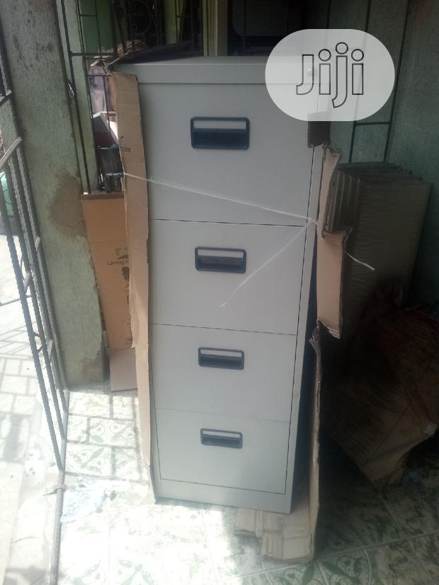 Metallic Office File Cabinet
