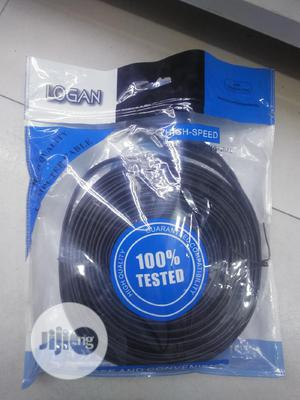 HDMI To HDMI Cable Flat   Accessories & Supplies for Electronics for sale in Lagos State, Ikeja