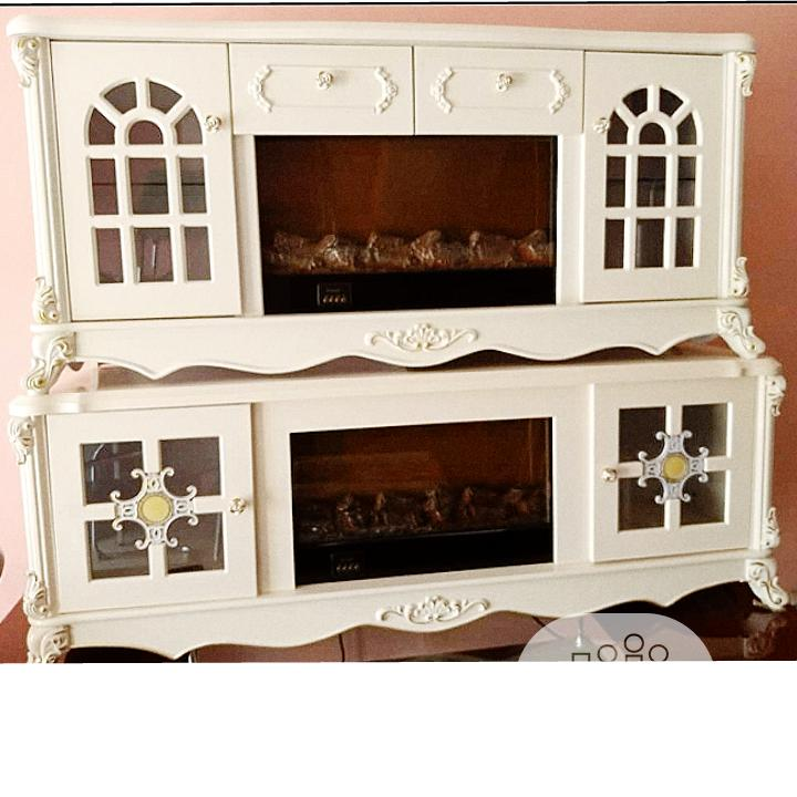 Fire Place Tv Stand With Remote