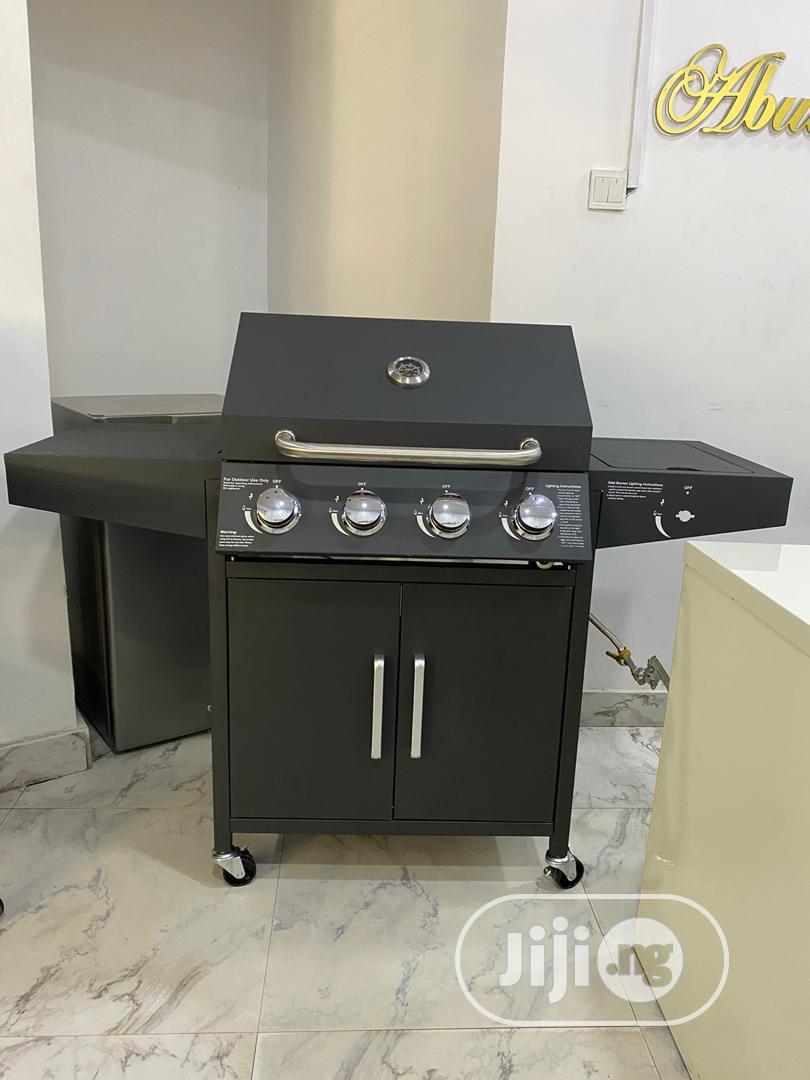 4burnner Barbecue Machine