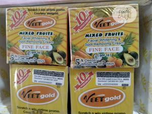 Veet Gold Mixed Fruit Facial Spot Removal Cream | Skin Care for sale in Lagos State, Amuwo-Odofin