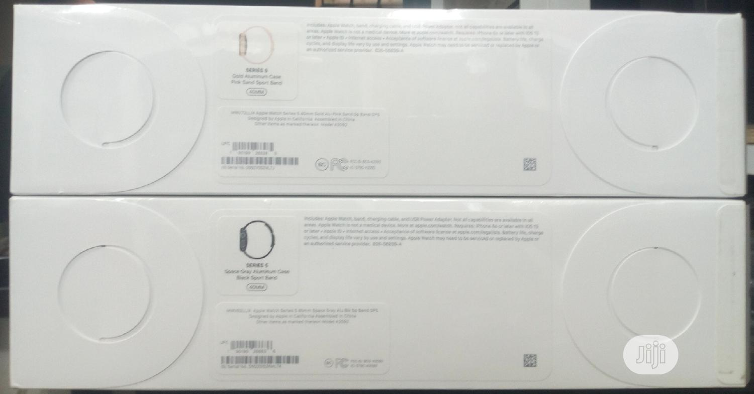 Apple Watch Series 5 40mm Gps | Smart Watches & Trackers for sale in Ikeja, Lagos State, Nigeria