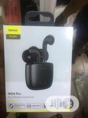 Baseus W04 Pro Bluetooth Earphone 5.0 True Wireless | Headphones for sale in Lagos State, Ikeja
