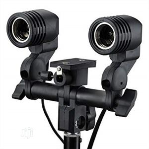 Light Socket With Light Stand Swivel Mount & Umbrella Holder | Accessories & Supplies for Electronics for sale in Lagos State, Ikeja