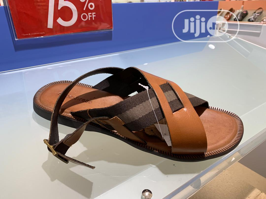 Men's Quality Leather Sandals Available | Shoes for sale in Kosofe, Lagos State, Nigeria