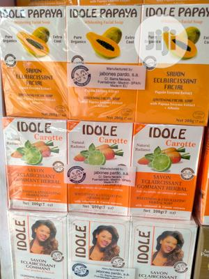 Idole Exfoliating Soap Whitening Soap Range Diff Types 3 In 1 Pack | Bath & Body for sale in Lagos State, Amuwo-Odofin
