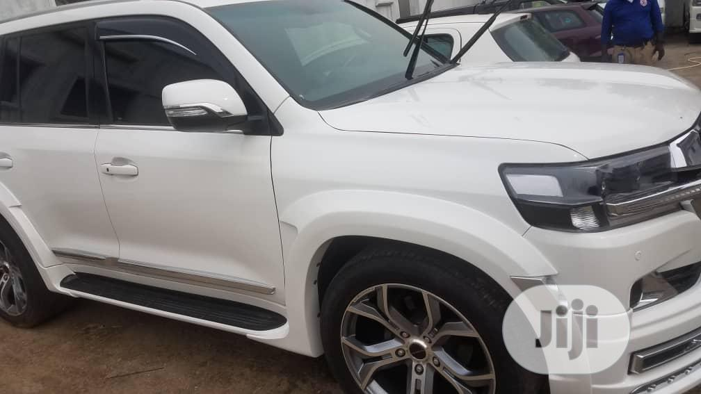 Toyota Land Cruiser 2017 White | Cars for sale in Ikotun/Igando, Lagos State, Nigeria