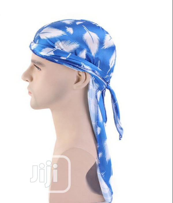 Silky Blue Camouflage Durag | Clothing Accessories for sale in Surulere, Lagos State, Nigeria