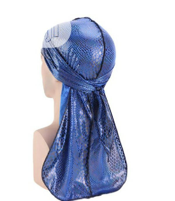 Classic Silky Blue Durag