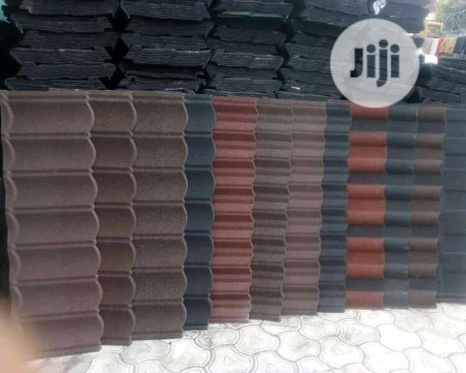 Archive: 50yrs Warranty Bond and Classic Stone Coated Roofing Sheet in Iagos