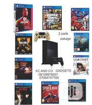 Brand New Ps4 With 2pads and Latest 10 Games Inside>Fifa20,God of War4 | Video Game Consoles for sale in Lagos State, Ikeja