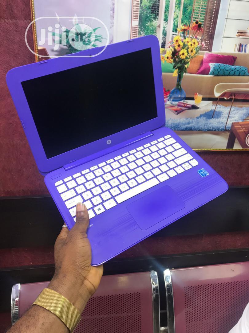 Laptop HP Stream 11 Pro G3 4GB Intel SSD 32GB   Laptops & Computers for sale in Ikeja, Lagos State, Nigeria
