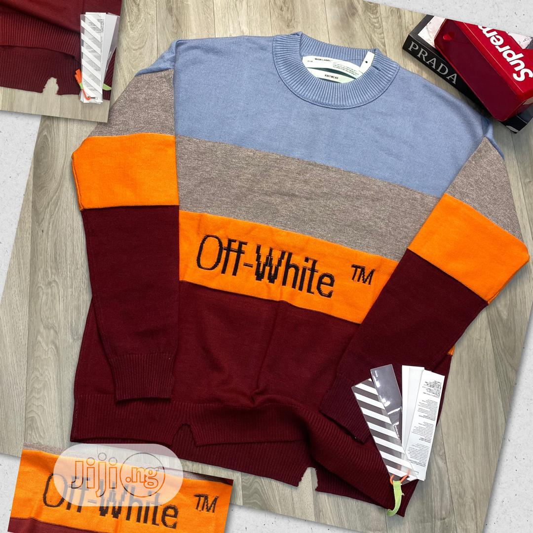 Off White Sweaters 2020 | Clothing for sale in Ojo, Lagos State, Nigeria