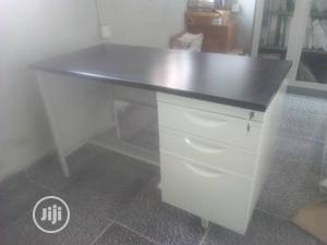1.4meter Metal Office Table | Furniture for sale in Lagos State, Yaba