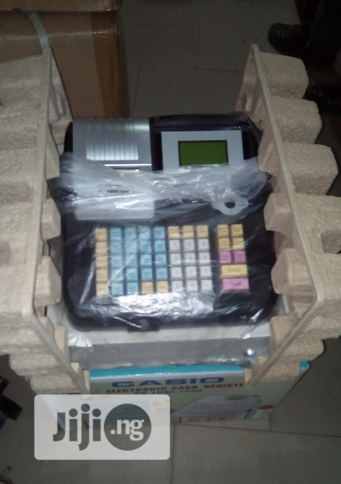 Brand New Imported Electronic Cash Register Machine.