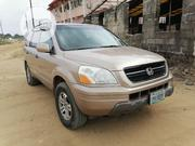 Honda Pilot 2004 EX 4x4 (3.5L 6cyl 5A) Brown | Cars for sale in Akwa Ibom State, Uyo