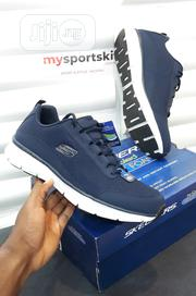 Original Skechers Air Cooled Blue Sneakers (Imported USA) | Shoes for sale in Lagos State, Surulere