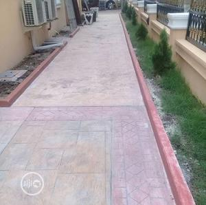 Concrete Stamped Floor | Building & Trades Services for sale in Lagos State, Epe