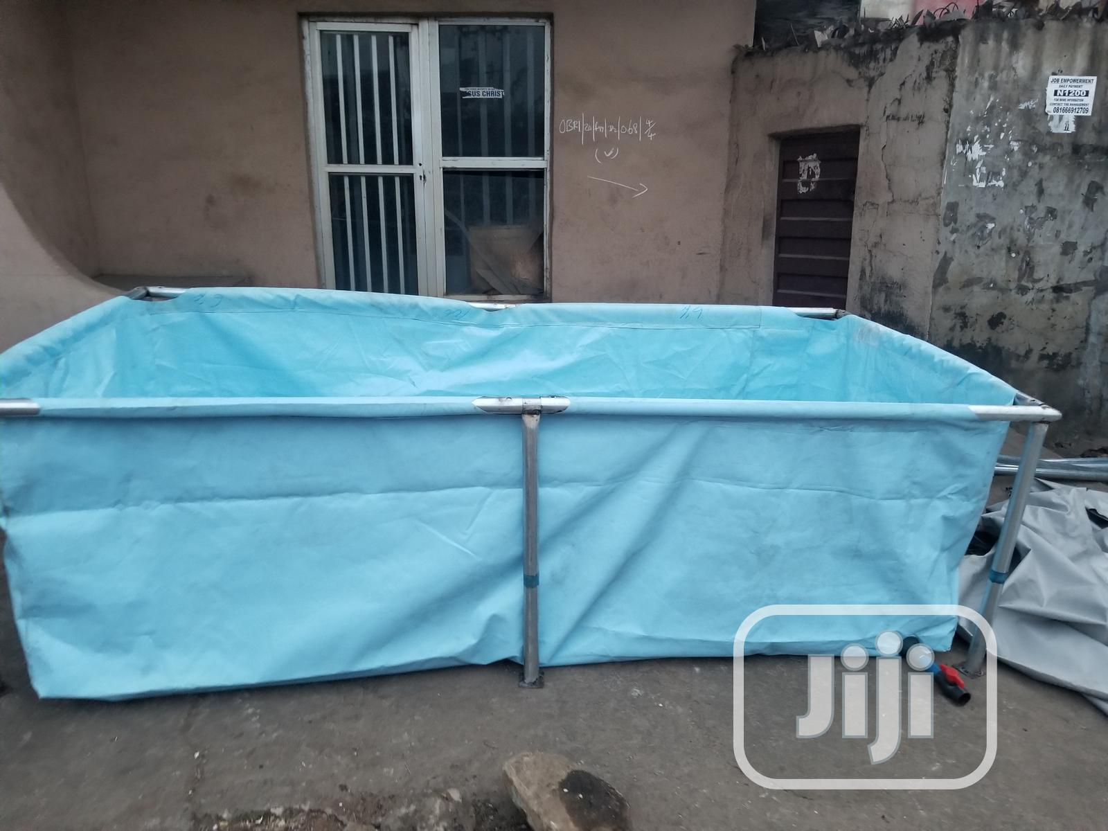 Rugged Tarpaulin Fish Pond. | Farm Machinery & Equipment for sale in Asokoro, Abuja (FCT) State, Nigeria