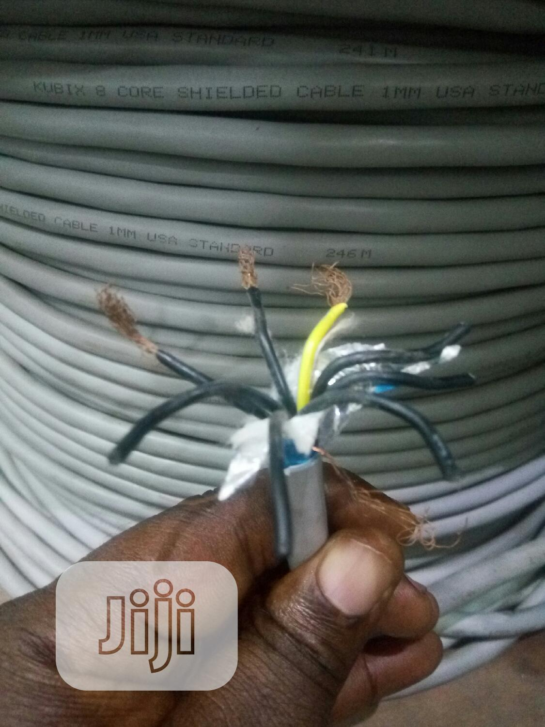 1mm 8core Shielded Cable