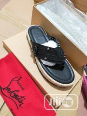 Christian Louboutin Plam Slipper for Men | Shoes for sale in Lagos State