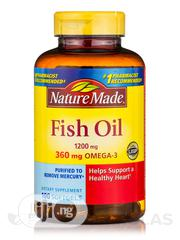 Nature Made - Omega-3 Fish Oil X 140 Capsules   Vitamins & Supplements for sale in Lagos State, Gbagada