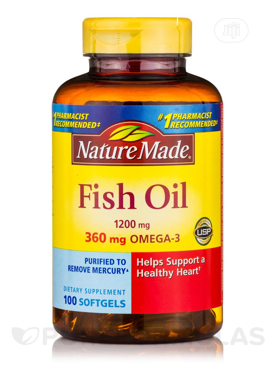 Nature Made - Omega-3 Fish Oil X 140 Capsules