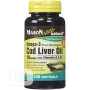 Mason Natural - Cod Liver Oil X 100 | Vitamins & Supplements for sale in Lagos State, Gbagada