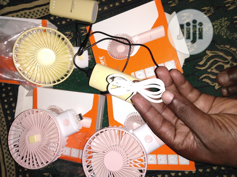 Original Hand Fan With 3000mah Power Bank
