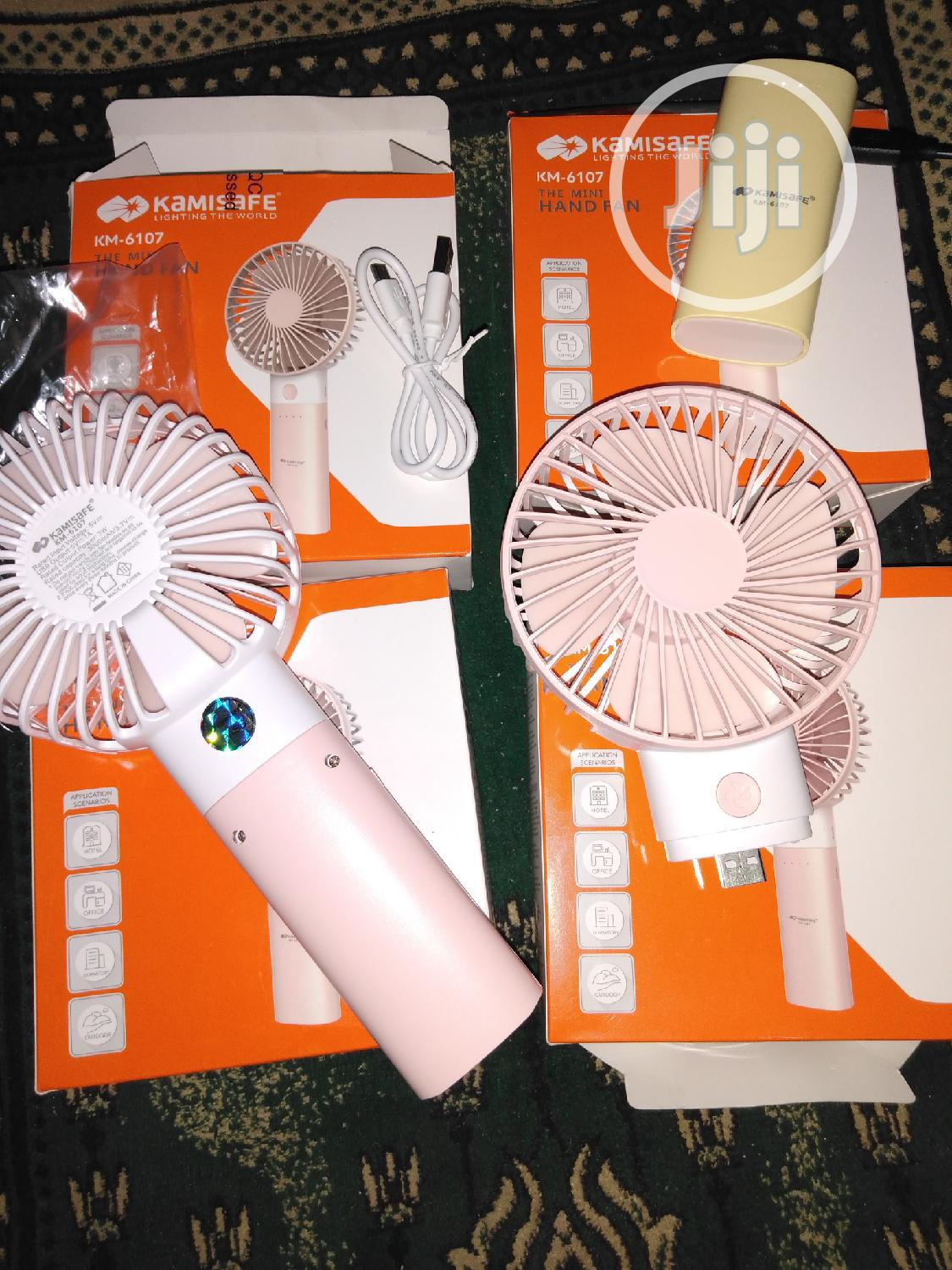 Original Hand Fan With 3000mah Power Bank | Home Accessories for sale in Surulere, Lagos State, Nigeria