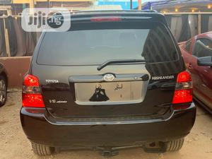Toyota Highlander 2007 Limited V6 4x4 Black | Cars for sale in Lagos State, Ikeja