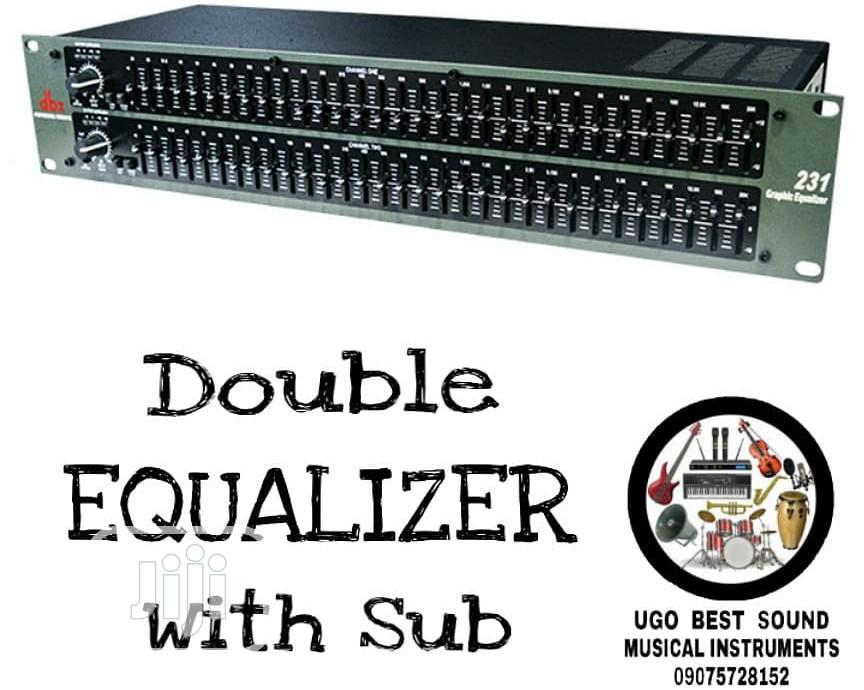 Double EQUALIZER With Sub | Audio & Music Equipment for sale in Mushin, Lagos State, Nigeria