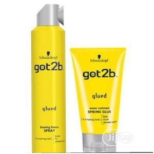 Got 2b Blasting Freeze Spray 300ml + Spiking Glue   Hair Beauty for sale in Lagos State, Amuwo-Odofin