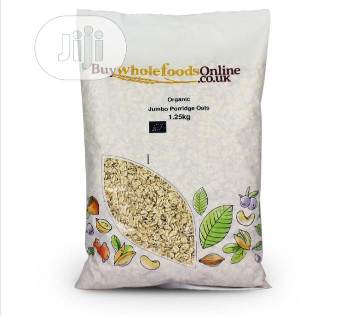 100% Organic Wholegrain Oat - 1. 25kg