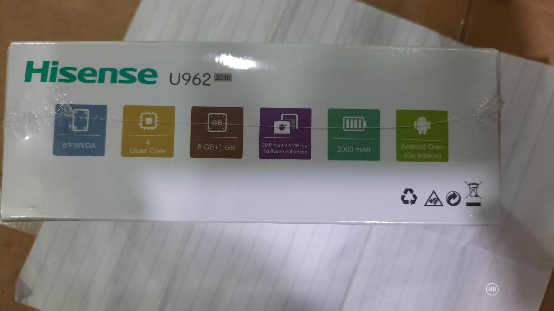 New Hisense U962 8 GB Blue   Mobile Phones for sale in Ifako-Ijaiye, Lagos State, Nigeria