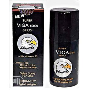 SUPER VIGA SPRAY Viga Strong 50000 Delay Spray (With Vitamin E) | Sexual Wellness for sale in Lagos State, Surulere