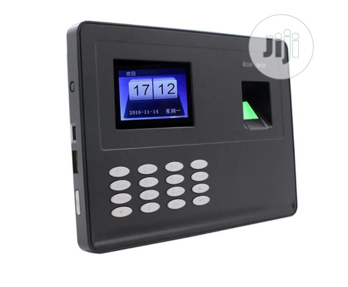 F02 Biometric Fingerprint Password Attendance Machine With Battery | Safety Equipment for sale in Ikeja, Lagos State, Nigeria