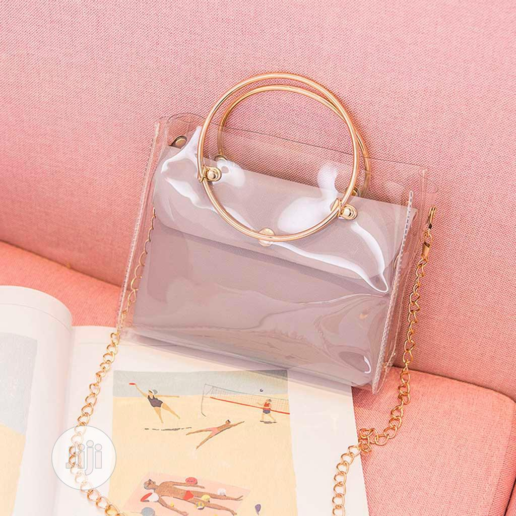 Transparent Jelly Bag (FREE SHIPPING) | Bags for sale in Akinyele, Oyo State, Nigeria