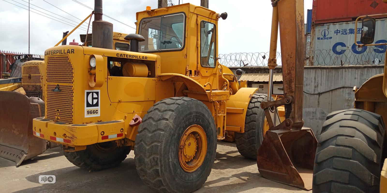 Archive: 966c Caterpillar Payloader