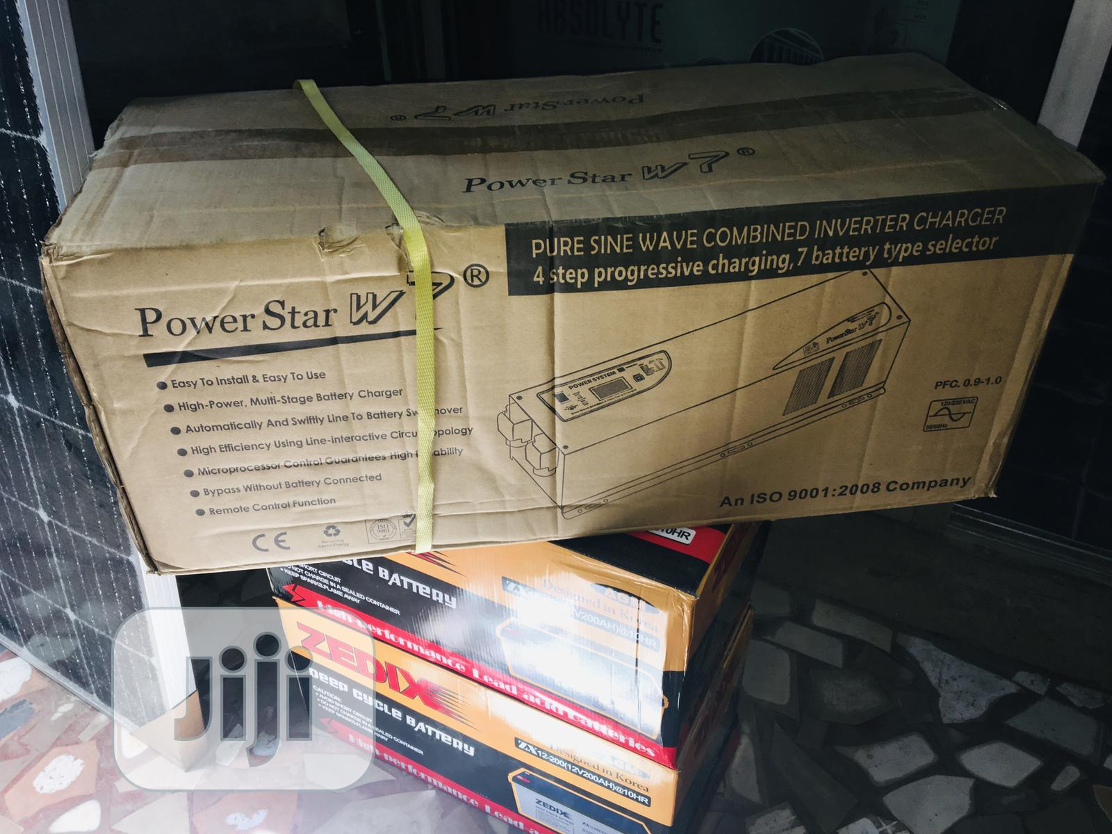 5kva Power Star Pure Sine Wave Combine Inverter And Charger