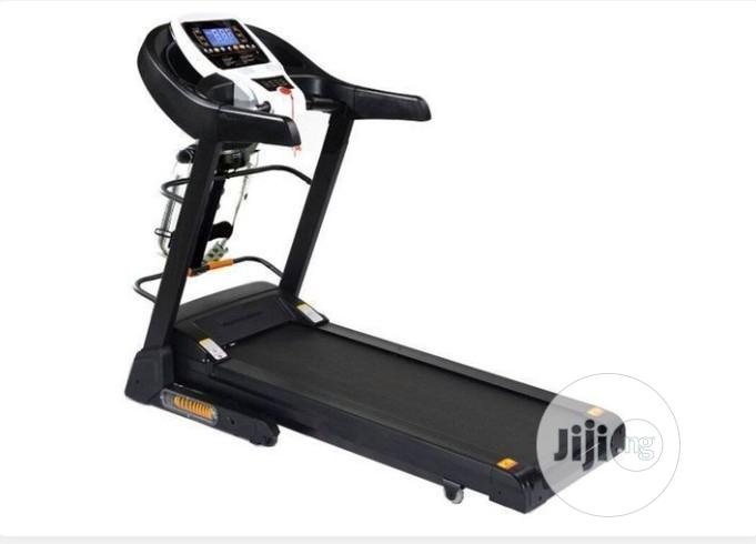 Americanfitness Treadmill 1.5HP With Massage Sit-up & MP3 | Sports Equipment for sale in Surulere, Lagos State, Nigeria
