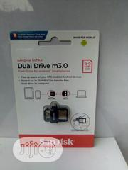 Original Sandisk 32GB Dual M3.0 Flash Drive For Android Smartphones   Computer Accessories  for sale in Lagos State, Yaba