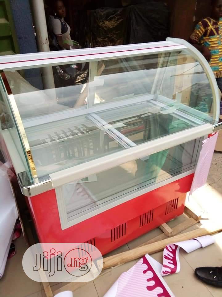 Ice Cream Display Fridge