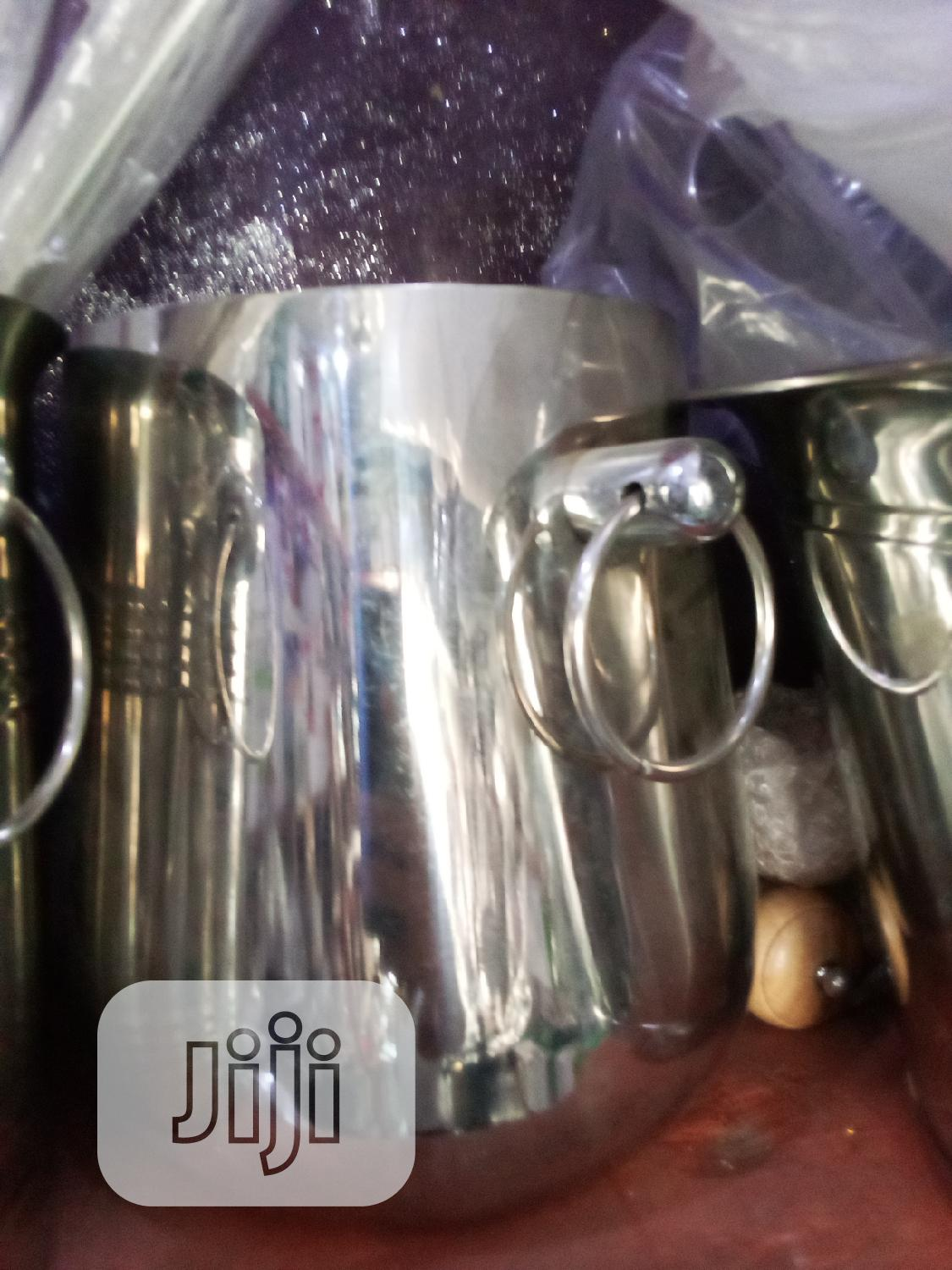 Stainless Steel Ice Bucket In Lagos Island Eko Kitchen Dining Unique Kitchen Jiji Ng For Sale In Lagos Island Eko Buy Kitchen Dining From Unique Kitchen On Jiji Ng