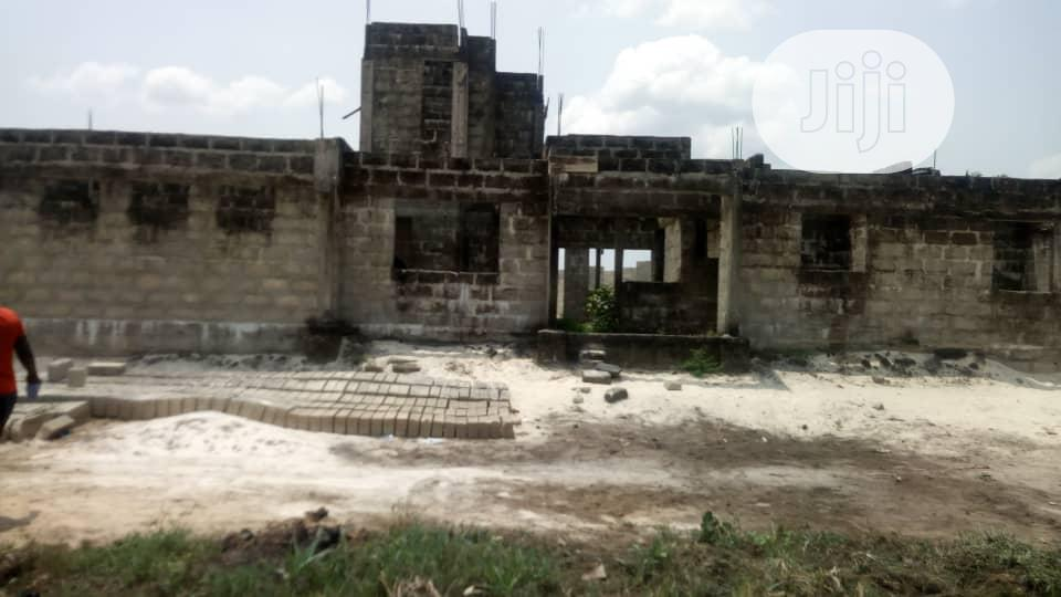 Uncompleted Bungalow For Sale At Ughelli, Delta State